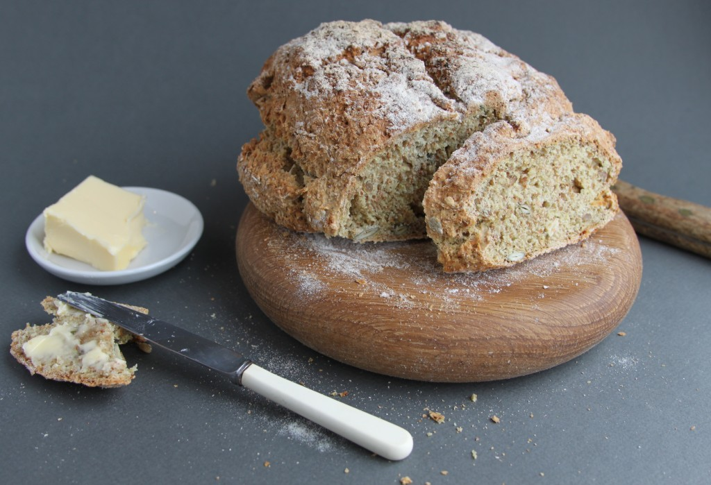 Anna May everyday seedy soda bread