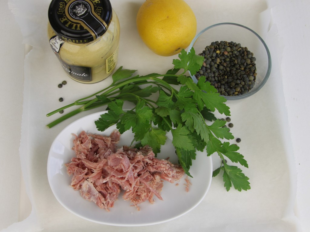 Anna May everyday ham hock salad ingredients