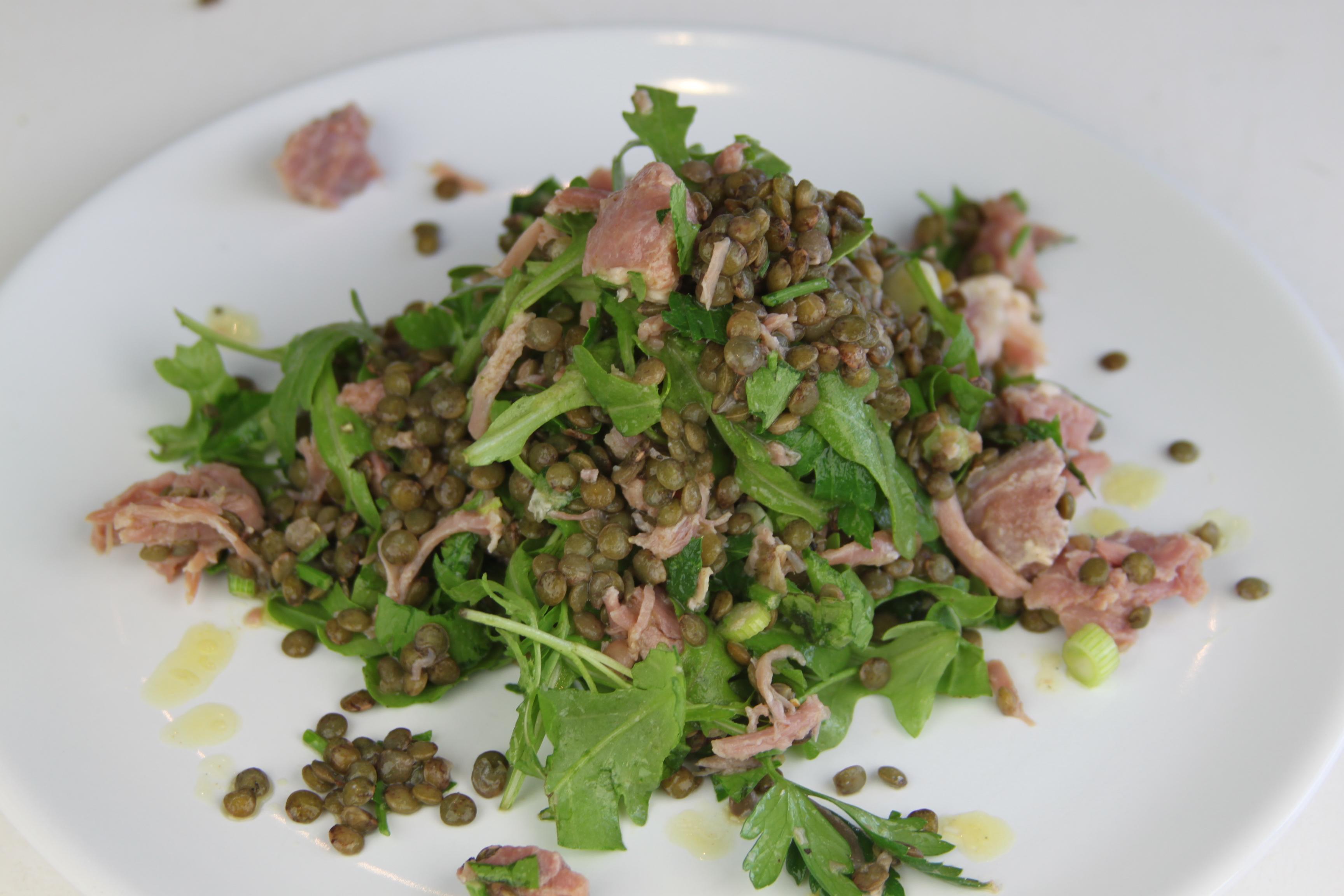 Lentils and Pea Risotto pics