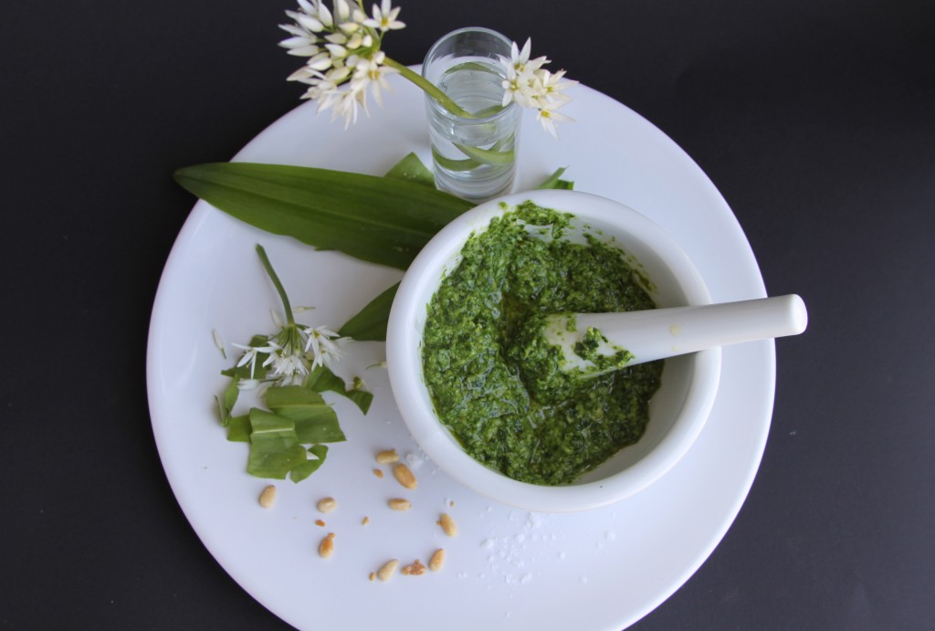 Anna May everyday wild garlic pesto