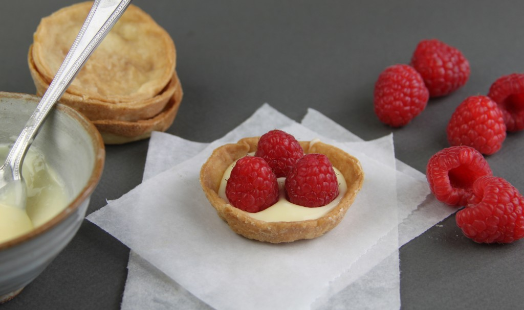 Anna May everyday raspberry tarts1