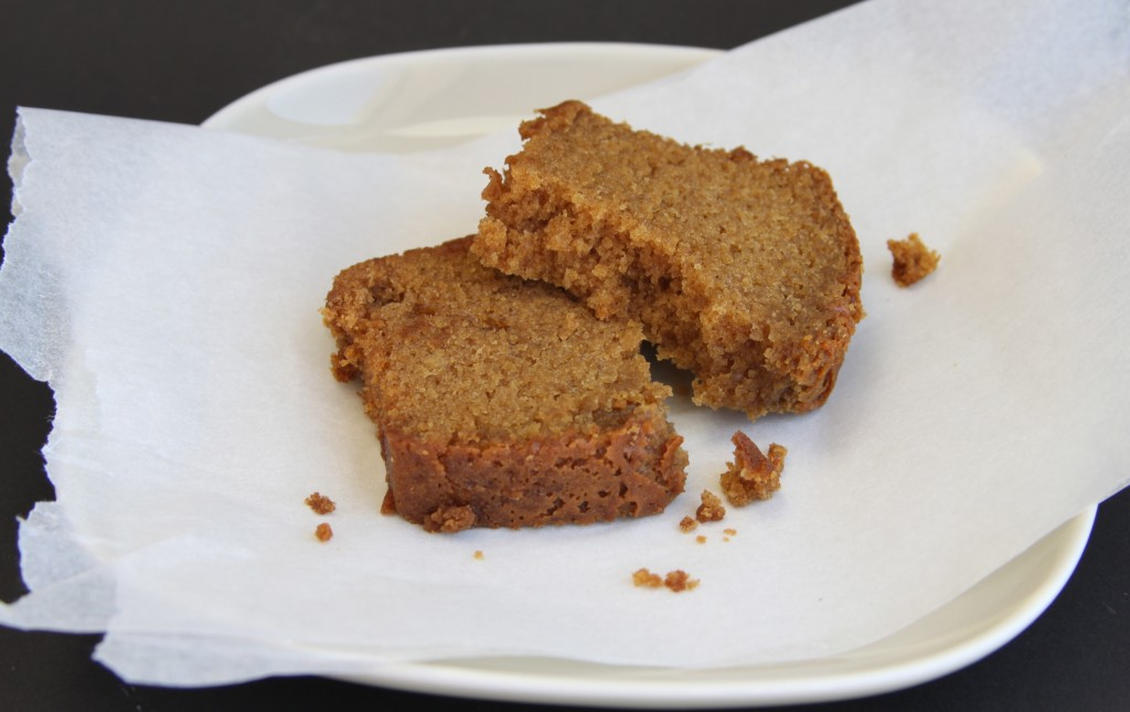 Anna May everyday ginger cake sliced