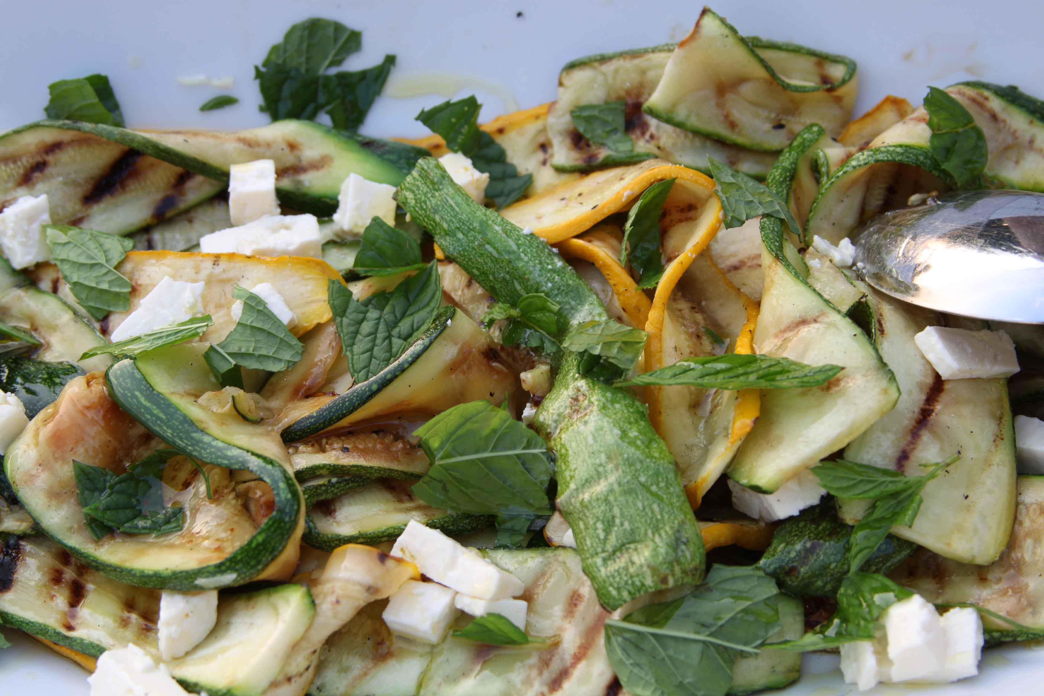 Anna May courgette salad
