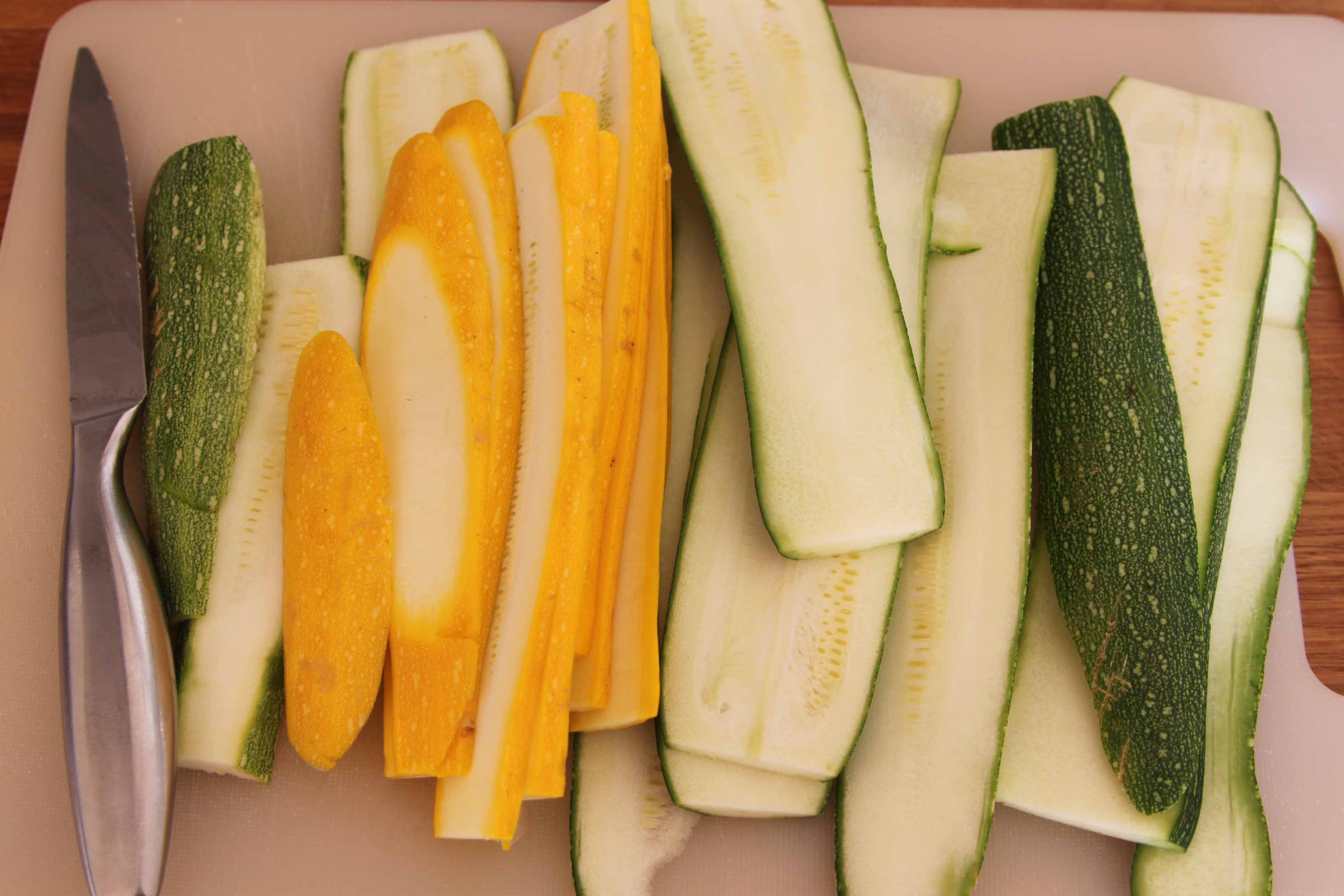 Anna May courgettes
