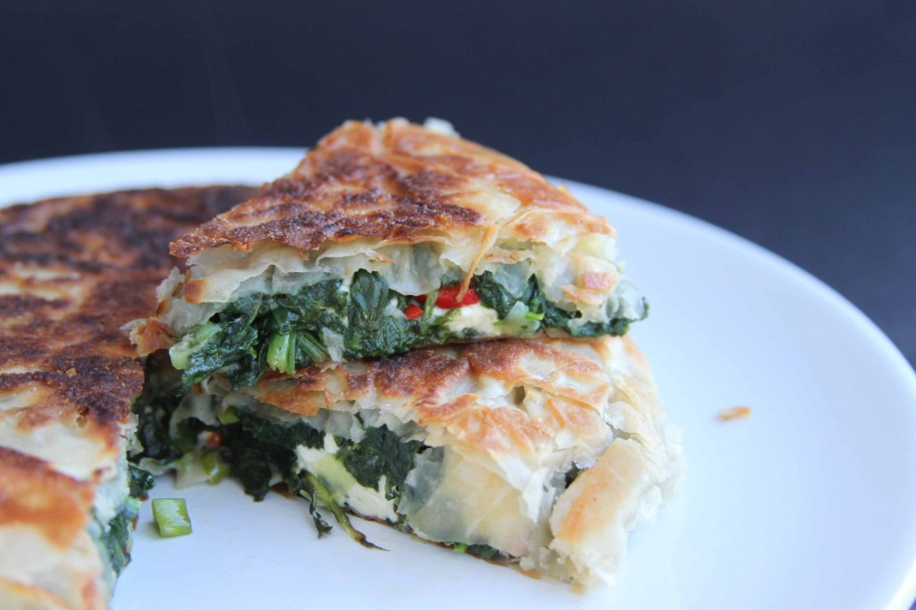 Spinach and Feta Filo 2