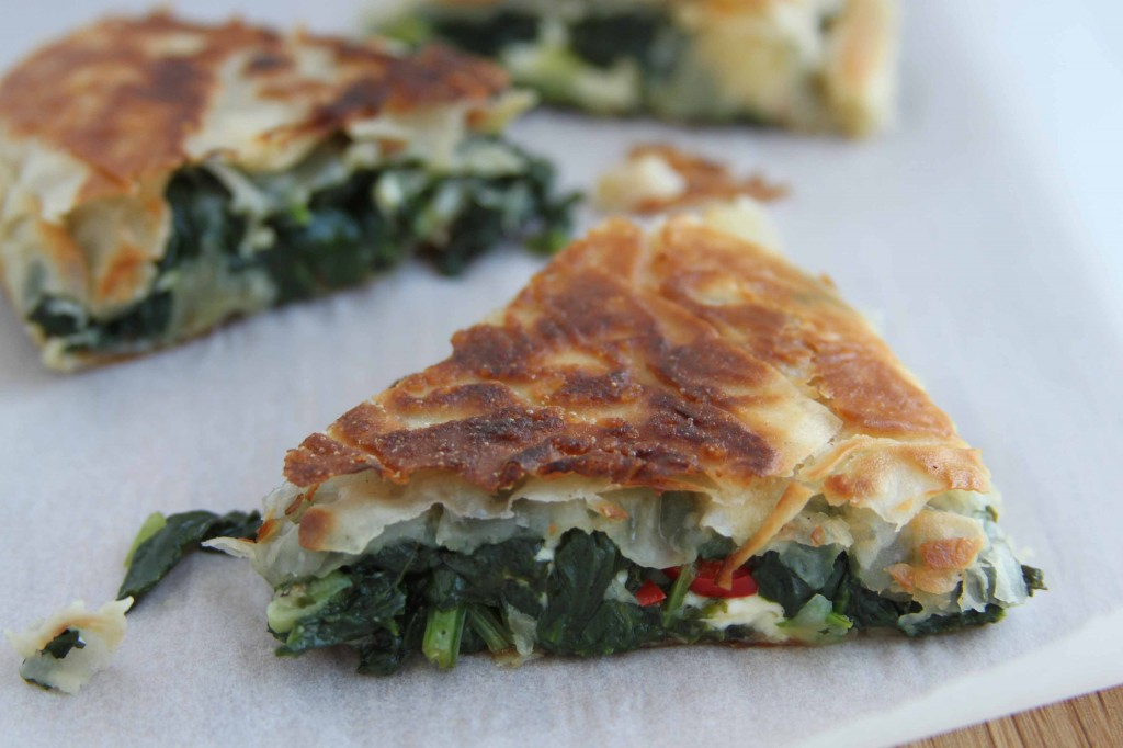 Spinach and Feta Filo 3