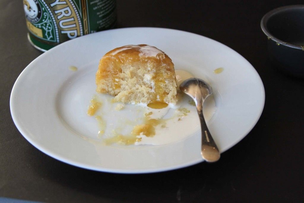 Golden Syrup Sponge 2