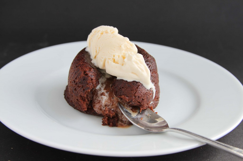 Salted Caramel Chocolate Fondant 4