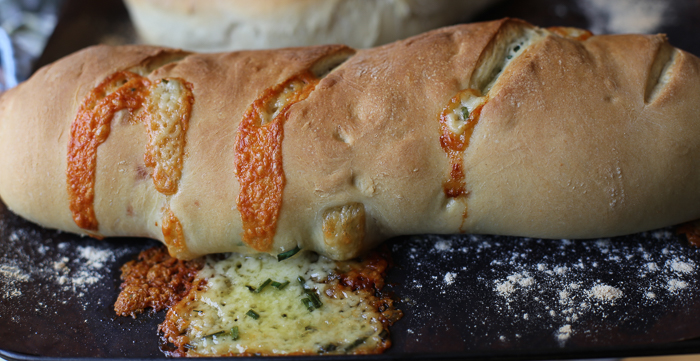 Cheese and Chive Bread 2