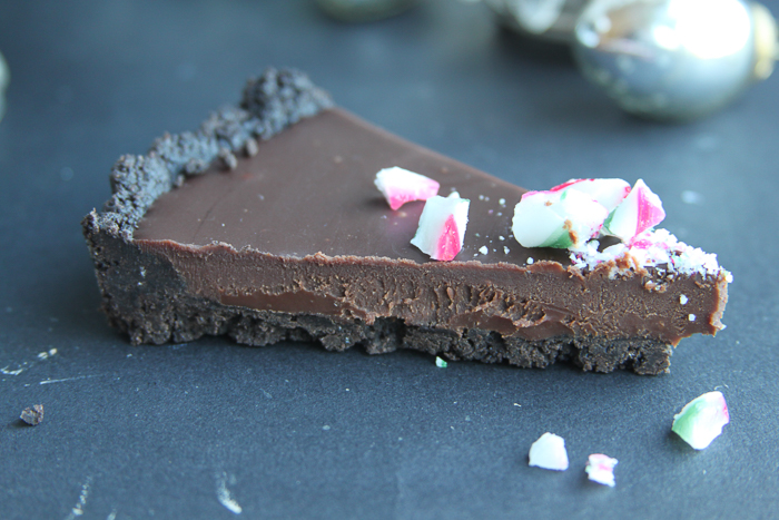 Chocolate Peppermint Tart 3