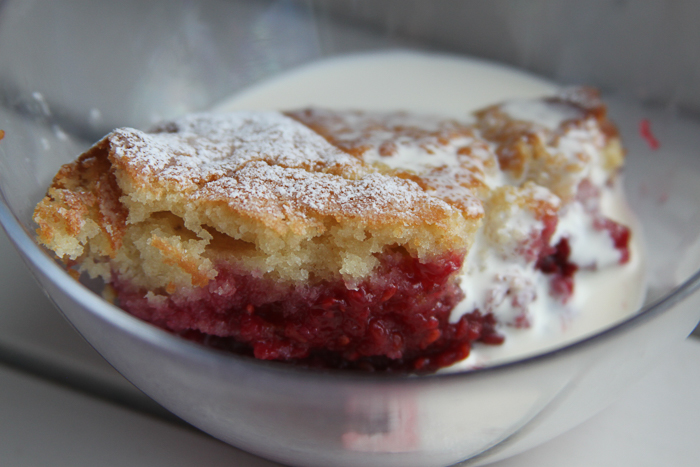 Raspberry Larder Pudding 2