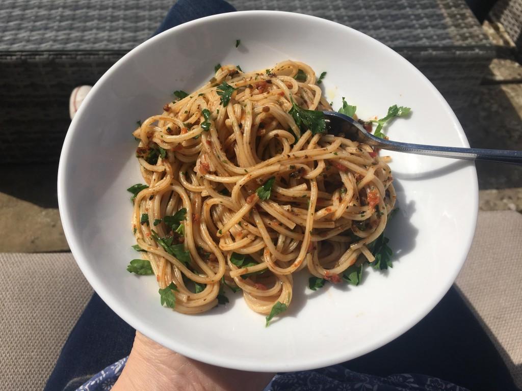 sundried tomato pasta